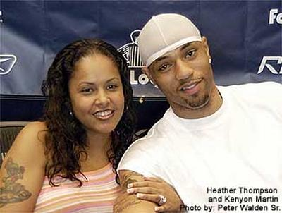 heather-martin-and kenyon martin