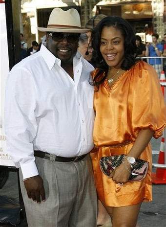 Talk To Me Premiere Cedric and Wife Lorna