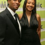 D.L. Hughley  And Wife