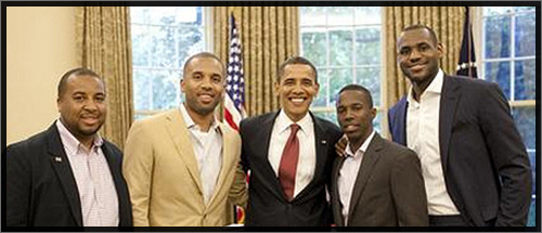 lebron james visits president obama