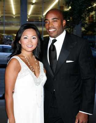 Nfl player tikki barber's wife ginny cha