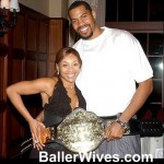rasheed wallace and wife fatima sanders wallace