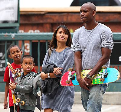 dave-chapelle-family-wife-elaine-and-kids