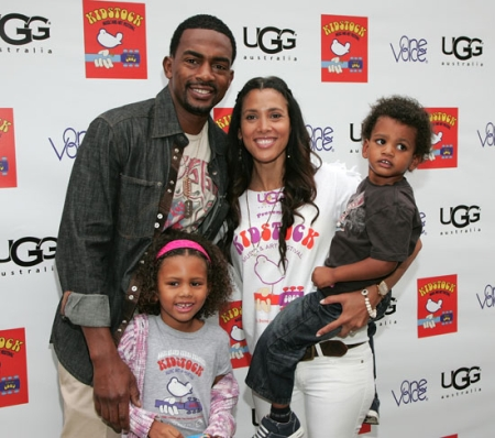 bill-bellamy-wife-kristen-baker-kids
