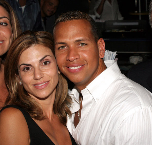 Cynthia and Alex Rodriguez