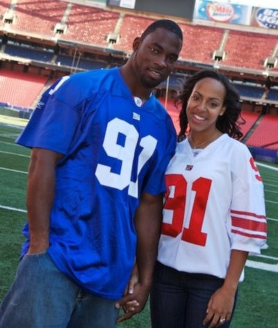 justin-tuck-wife-lauran-williamson