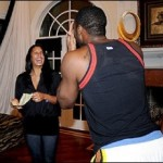gilbert-arenas-engagement-laura-govan