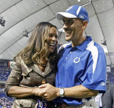 tony-dungy-wife-lauren-harris