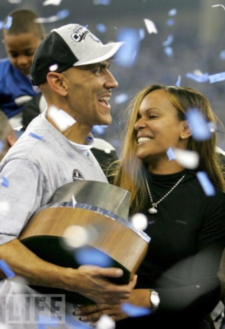 tony-dungy-wife-lauren-harris1