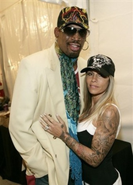 Dennis Rodman's Wife Michelle Moyer Rodman (Photos ...