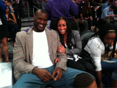shaq and hoopz. Shaq and Hoopz at the NBA All