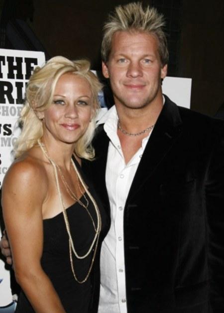 Chris Jericho with beautiful, Wife Jessica Lockhart