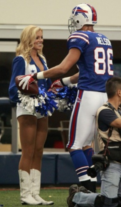 Dallas cowboy cheerleader dating football player