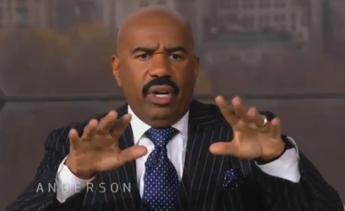 Man Cave Show Steve Harvey : Video steve harvey interview on the anderson cooper