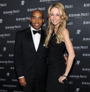 Tiki-barber-and-fiancee-traci-lynn-johnson