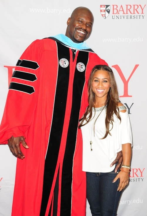 Shaquille oneal and hoopz married