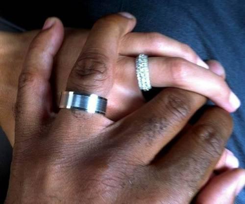 Tiki Barber And Wife Traci Lynn Johnsonu0027s Wedding Rings
