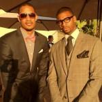 Trevor-Ariza-Dorell-Wright-quentin-richardson-wedding