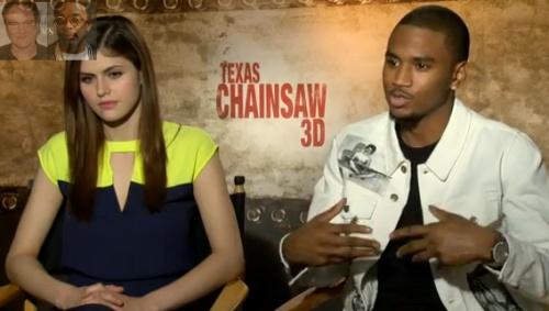 Trey Songz Talks Movie Texas Chainsaw 3D Video The Baller Life