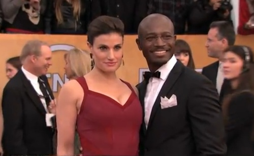 taye-diggs-wife-Idina-Menzel-sag-awards