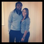 Torry Smith and his fiancee Chanel Williams