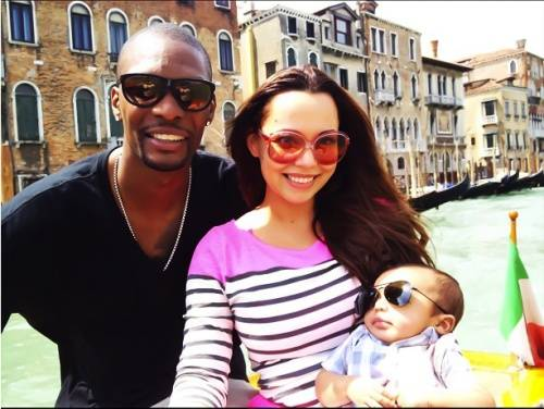 Adrienne-Bosh-Chris-Bosh-pregnant-second-child1