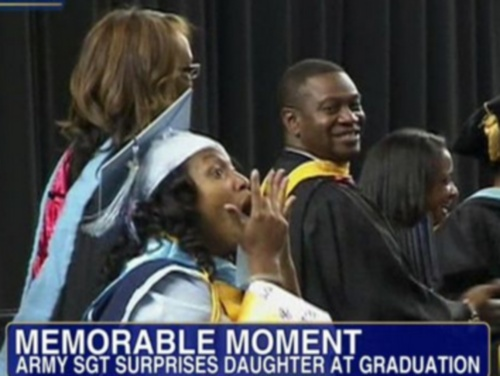 military-father-surprises-daughter-graduation
