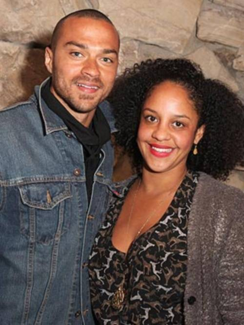 jesse-williams-wife-Aryn Drake-Lee-1