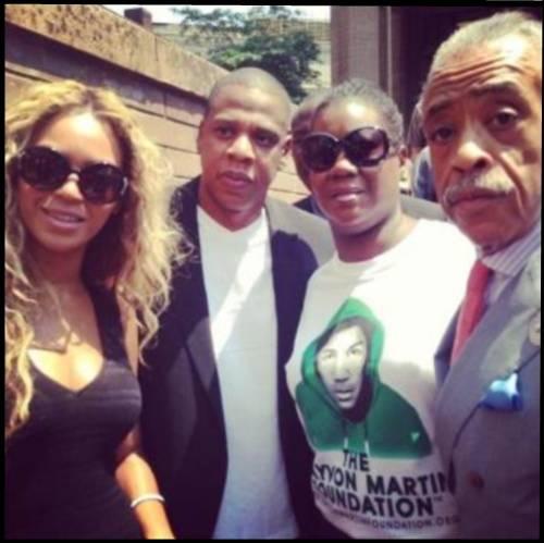Jay-Z-Beyonce-attend-Trayvon-Martin-rally-al-sharpton-1