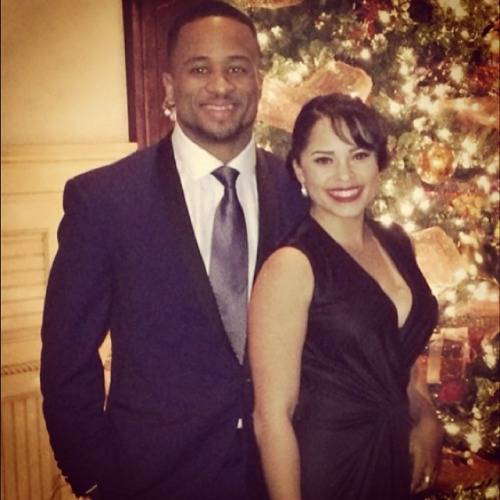 Earl-thomas-girlfriend-Nina-Bahamm-Heisser-photo