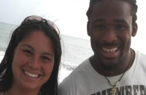deangelo-williams-girlfriend-Risalyn Burzynski-photo