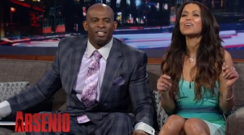 deion-sanders-girlfriend-tracey-edmonds-pics