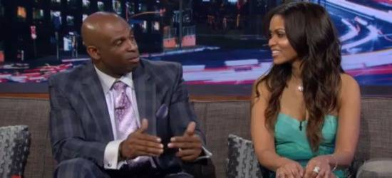 Tracey Edmonds And Deion Sanders Open Up About Their Personal Life, Relationship And When They First Met! [Video]