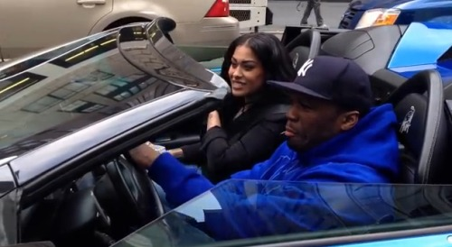 50-cent-riding-Blue_Lamborghini_Murcielago-video