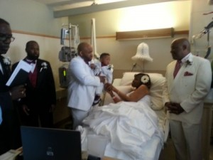 Maurese-Miller-Tomya-Goffney-Miller-wedding-cancer
