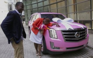teddy-bridgewater-buys-pink-escalade-mother-video