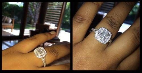 ariel-meredith-engagement-ring-hakeem-nicks
