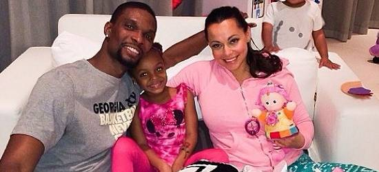 Chris Bosh's Wife Adrienne Dishes On How They First Met And What It's Like Being A Real 'Basketball Wife!' [Video]