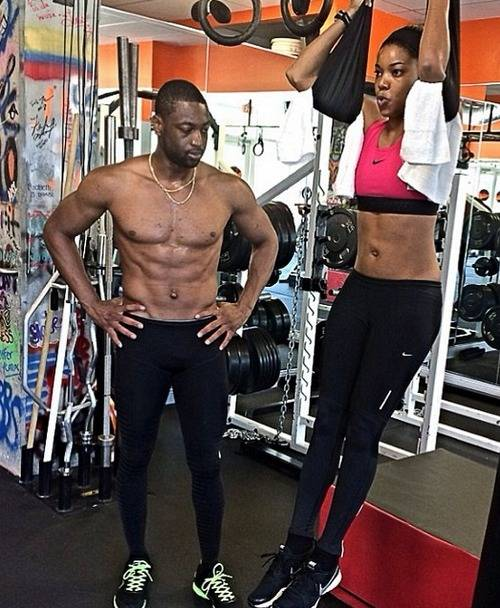 dwyane-wade-gabrielle-union-getting-in-shape-video1