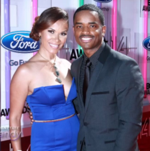 Larenz Tate S Wife Tomasina Parrott Photos Pictures