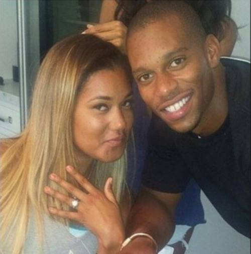 victor-cruz-fiance-girlfriend-elaina-watley-photo-