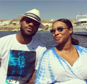lebron-james-wife-savannah-push-gift