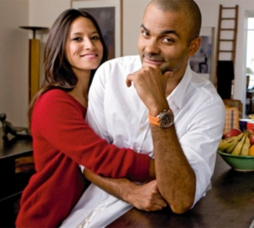 tony-parker-wife- Axelle Francine-pics-photos