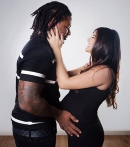 Vontaze-Burfict-Girlfriend-Brandie-LaBomme-pics