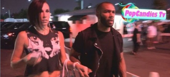 Omari Hardwick & Wife  Jennifer Pfautch Greet A Fan Before Entering Jay Z & Beyonce's 'On The Run Tour.' [Video)
