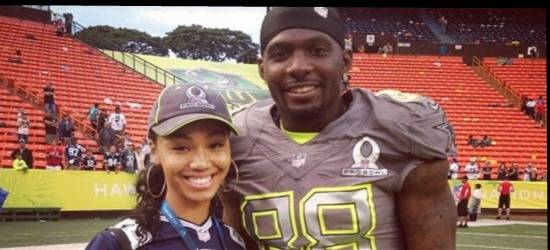 Dez Bryant's Girlfriend Ilyne Nash