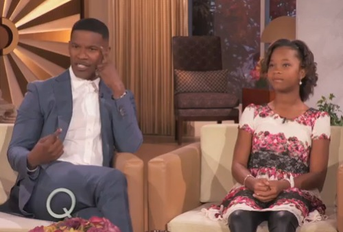 jamie-fox-Quvenzhané_Wallis_-interview