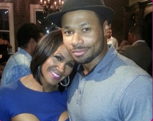 terri-vaughn-husband-Karon_Riley-pics