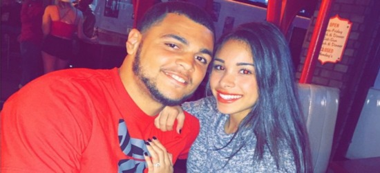 NFL Star Mike Evans Pops The Big Question To Girlfriend Ashli Dotson! (Photos)