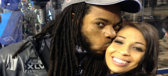 Richard Sherman And His Pregnant Girlfriend Ashley Moss Speak On The Possibility Of Having Their Baby During The SuperBowl!